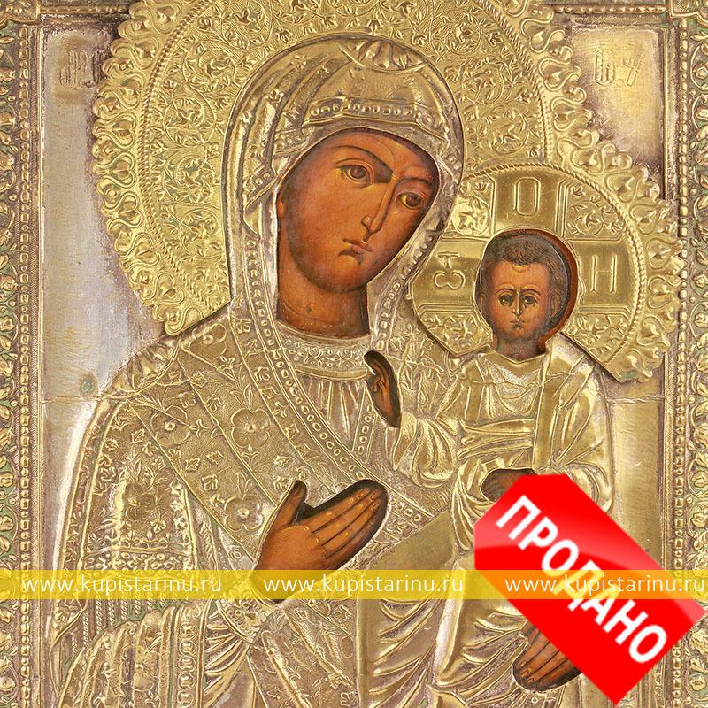 ... икона в подарок на свадьбу, икона для: kupistarinu.ru/arhiv/starinnaja-ikona-bogorodicy-smolenskaja-19-vek